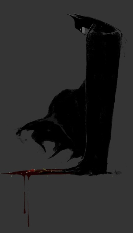 xombiedirge:  Batman Never Forgets by Andrea Rhodes / Blog / Tumblr