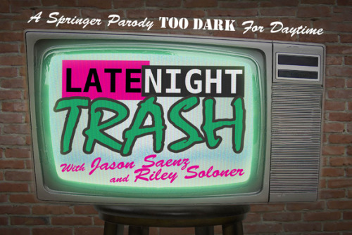 Here's one of my latest projects. New postcard for Late Night Trash! Check out the rest of my portfolio here.