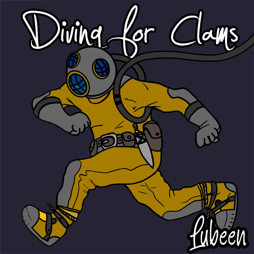 I present to you the Artwork for my upcoming project, Diving For Clams! Coverart done by my girl Yasmin Vera I SWEAR it'll be out ASAP!