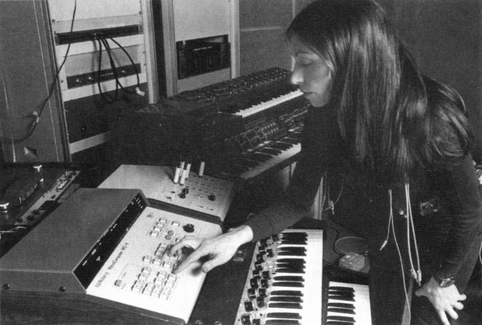 (Possibly) Suzanne Ciani.