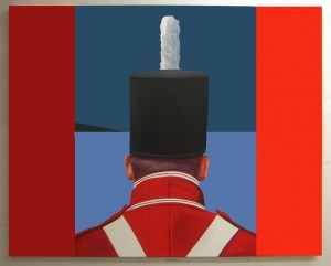 """Dressed to Kill,"" by Charles Pachter from his 1812: The Art of War series. (ht The CANADIAN DESIGN RESOURCE)"