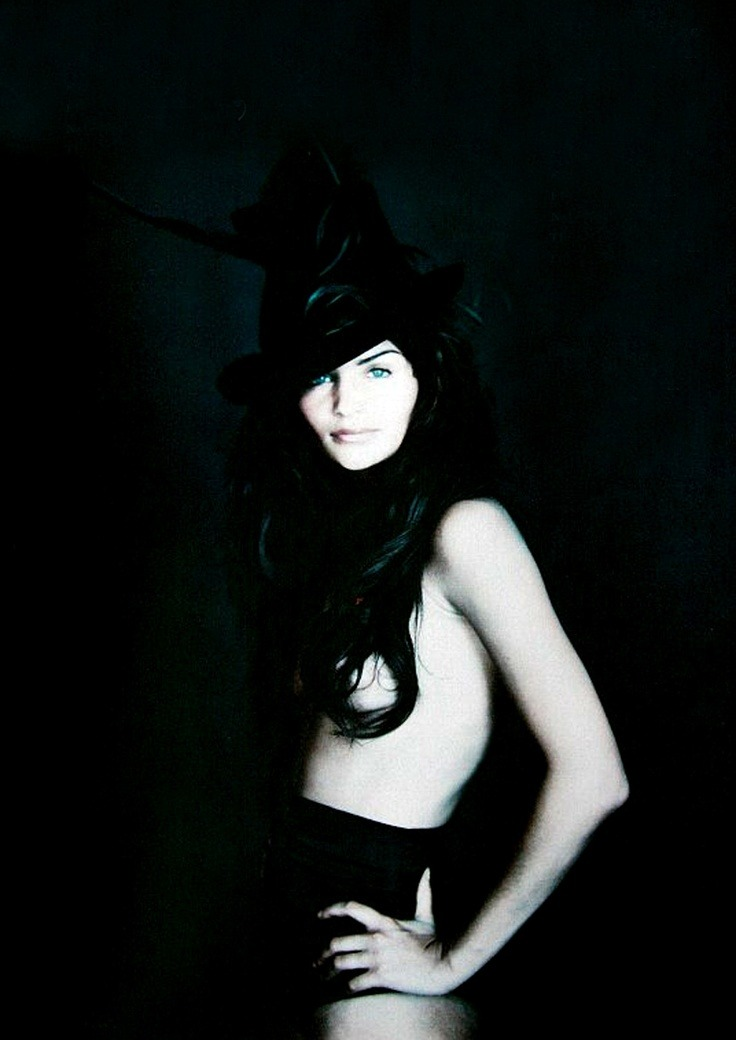 what beauty meant in the 90s Helena Christensen by Paolo Roversi