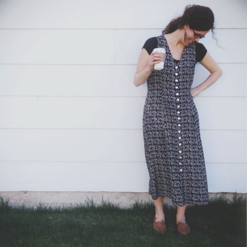 Client Amanda in an ELVintage dress…..super love. <3