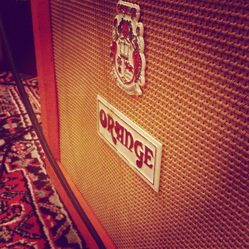 One of the many amps we've used to record this record