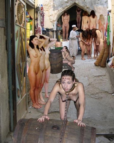 Narrow waist nude girl