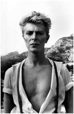 David Bowie by Helmut Newton