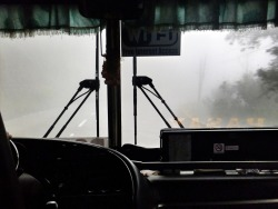 Busrides in the Philippines are freaky and dangerous, at least they have free wifi. :P