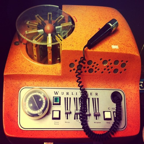 Cassette Carrousel. Be your own tape jocky 🎤 it has a mixer and even a button with a gong sound. #tape #cassette #vintage #seventies #design #plastic #music #dj #dope #inspiration #photooftheday #bestoftheday #picoftheday #tweegram #iphoneonly #iphonesia #instagramhub #instahub #instamood #instagood #instadaily #igerspescara #igers #igdaily #iphoneedit #iphonesia #instagrammers #instagramers