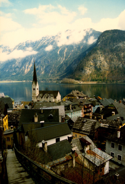 travelingcolors:  Hallstatt | Austria (by John Irving Dillon)