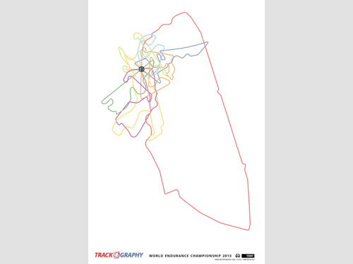 2013 World Endurance Championship Tracks13″x19″ Print Available for $20 @Trackography