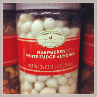 New fave: Archer Farm's Raspberry White Fudge Almonds (why are you a seasonal snack?) (via Mommy's Wish List: 10 items to shop for after the holidays.)