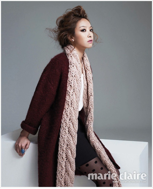 kmagazinelovers:  f(x) Victoria - Marie Claire Magazine December Issue '11