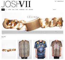 NEW IN & NOW AVAILABLE SHOP NOW @ http://JOSHVII.com