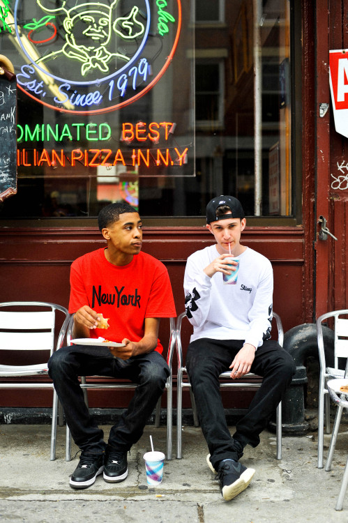 snappsny:  Phil & Kobi for Stussy #2