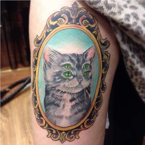 Check out the ink @camilla_kitten got based on one of the kitty kitty's!