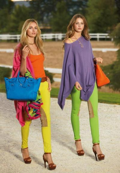 As an Equestrian, These pants hurt my soul.  Ralph Lauren Blue Label S/S 2013 AD campaign