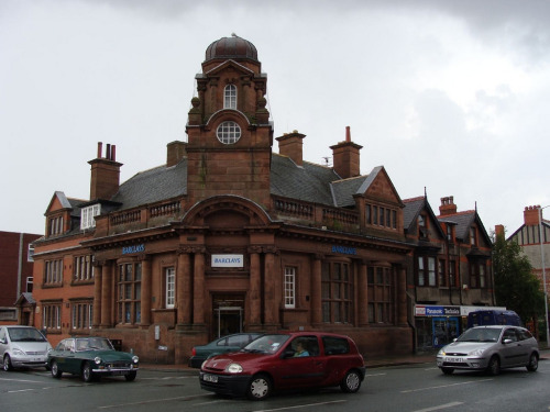 Barclays Bank (formerly Bank of Liverpool and Martins Bank), West Kirby, Wirral (by philipgmayer)