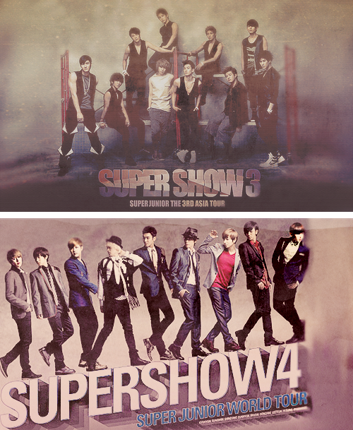 SUPER JUNIOR - SUPER SHOWS