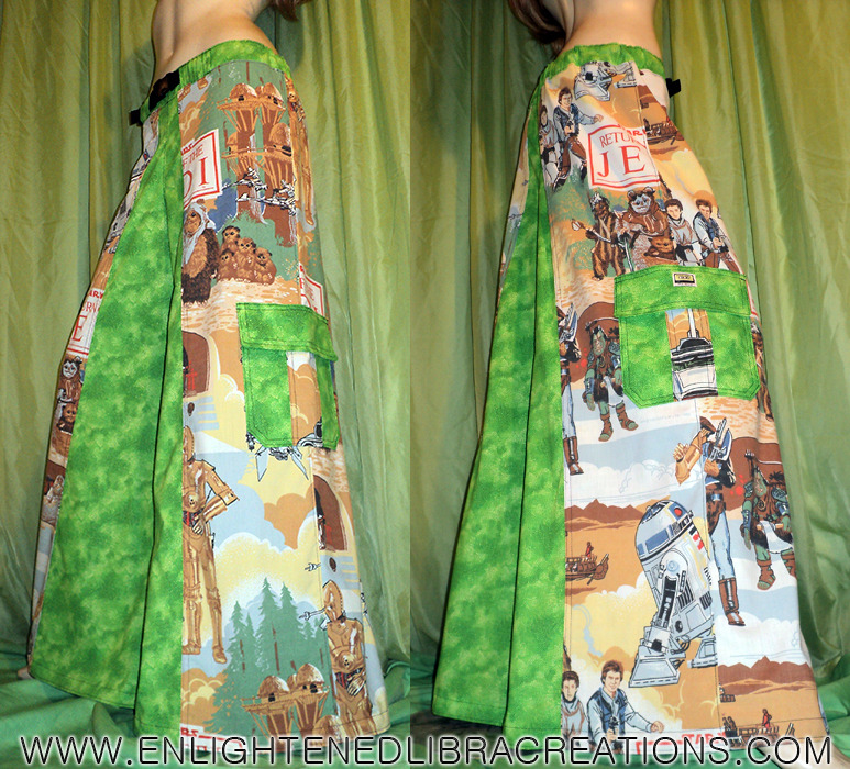 Star Wars Return of the Jedi Phat Rave Pants with Secret Stash Pocket : http://www.enlightenedlibracreations.com/Store/star-wars-jedi-phat-rave-pants/prod_366.html Sharing is Caring! May the Force Be With You !!