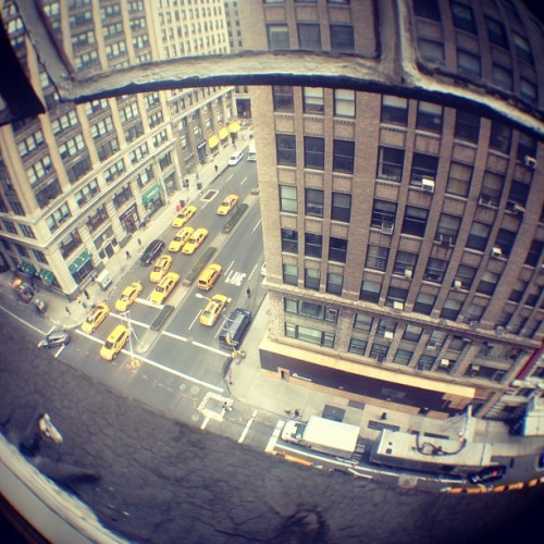 The view out the window of shapeways HQ in #nyc #manhattan (at Shapeways HQ)
