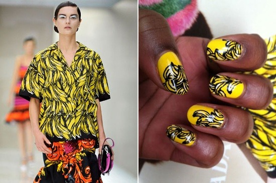 Prada Spring/Summer 2011 Photo: WAH Nails