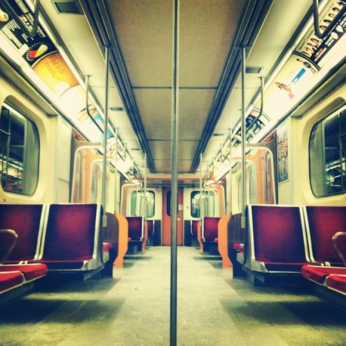 #Toronto TTC subway car.