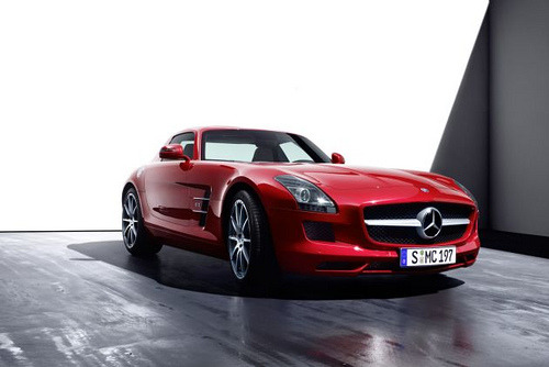 carnxge:  Mercedes SLS AMG by unknown