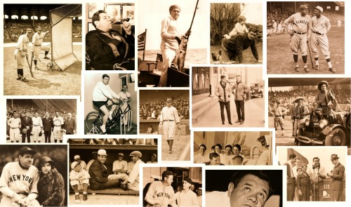 The Many Faces Of Babe Ruth The Real BSmile: New Background PhotoI was getting bored with my background image, so I created a new one using some of my favorite Babe Ruth photos that I've posted here over the past year+. Cheers!