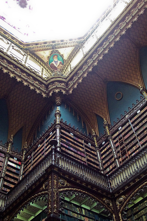 endlesslibraries:  Real Gabinete Português de Leitura (by Mental Lint)