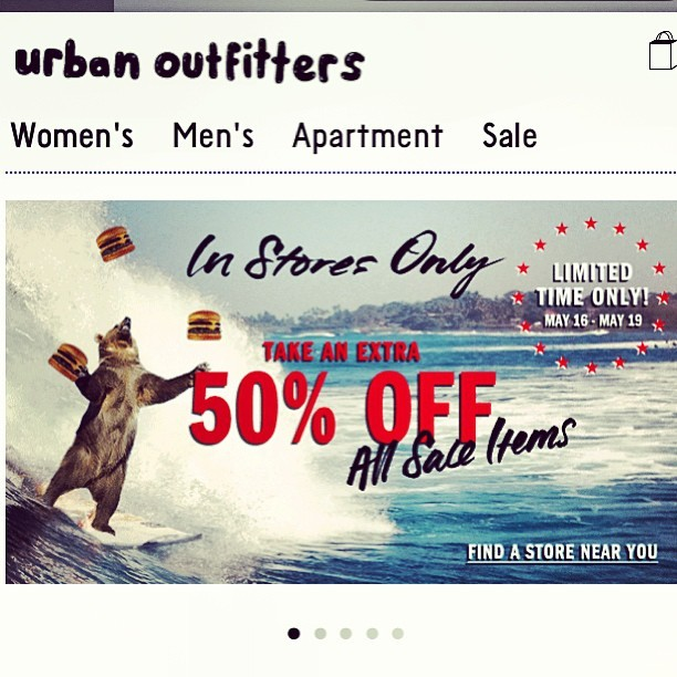BT&S Sales Update: @UrbanOutfitters Extra 50% off clearance in stores at your local Urban Outfitters! Ends Sunday! #Sale #MensShoes #MensFashion #MensStyle #GQ #Ebay #Menswear #Fashion #urbanoutfitters #uo