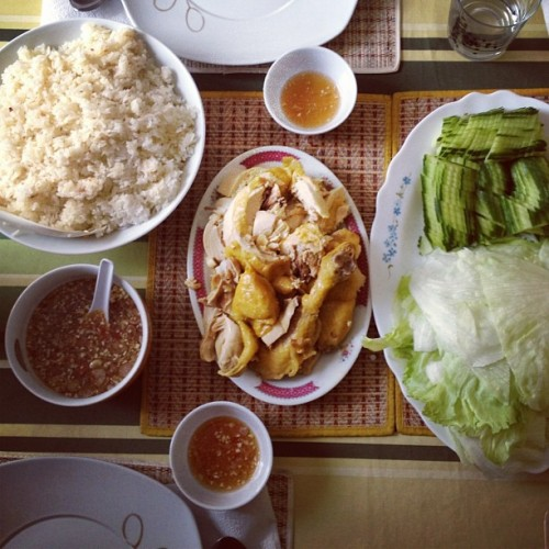 Chicken rice, Cambodian style