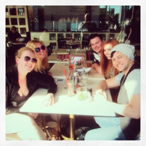 Beautiful lunch with friends whilst in LA :)