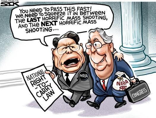 (cartoon by Steve Sack)