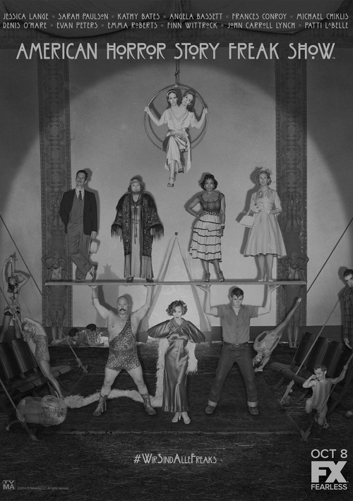 c-emetery:  American Horror Story: Freak Show, october 8 on FX. #WirSindAlleFreaks
