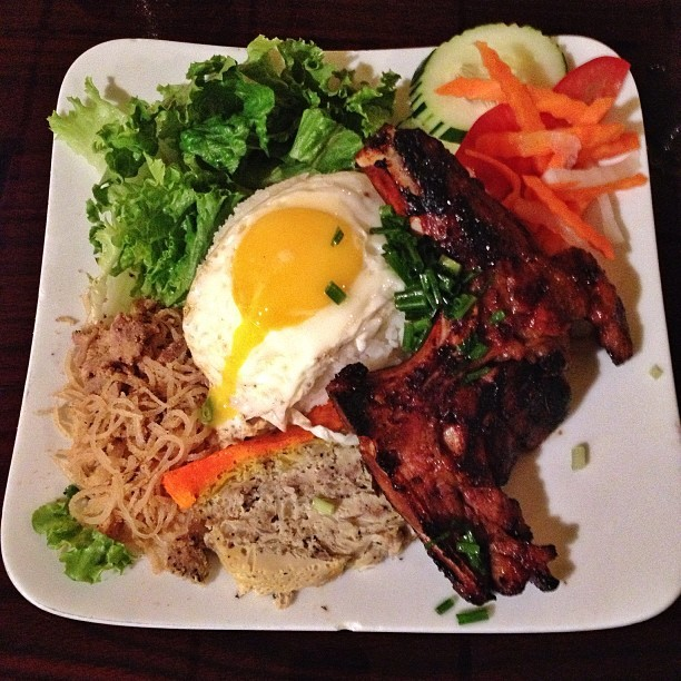 Order this #143 Grilled pork chop & more + fried egg #eggdrool @ Pho Vinh #Orlando #VietnameseFood  (at Phở Vinh (Pho Vinh))