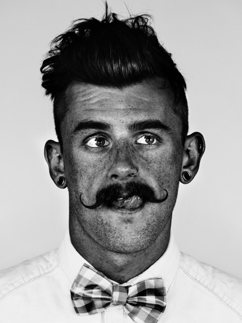 me and my moustache, shot by www.mrelbank.tumblr.com