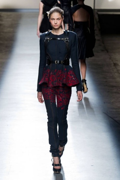 What Would Khaleesi Wear?Prabal Gurung Fall 2013 runway for House Targaryen