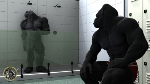 gorillacumdump:  The Locker Room 2