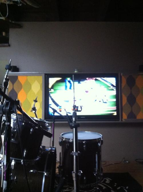 "Studio blog, day 3: ""let's just get drunk and watch football"""