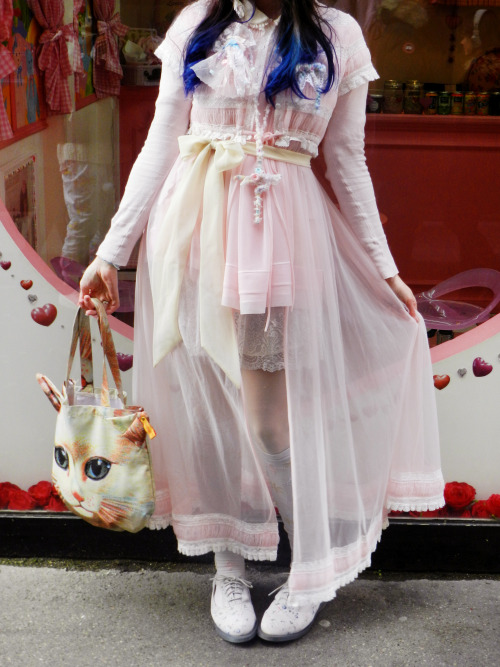 haru-popkei:  Last Cult Party outfit ♥ To do shopping with my friend in Paris ♥