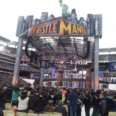 #nofilter #nozoomin @WWE WELCOME TO WRESTLEMANIA