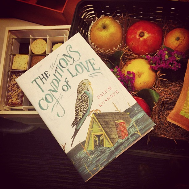 Dale Kushner sent us a yummy present on pub day. The Conditions of Love is available now!