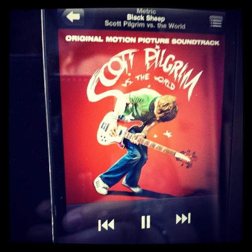 Listening to one of my favorite movie soundtracks while I get ready. :) #scottpilgrim