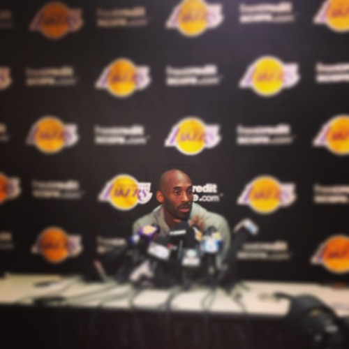 "instanba:  @kobebryant on the Lakers organization: ""You just gotta have the trust. No matter what happens this franchise seems to land on it's feet."" Kobe said he has full faith and trust in the organization, in ownership, which Jim and Jeanie Buss carry forward since Dr. Buss' passing. :: http://bit.ly/15XVjf3"