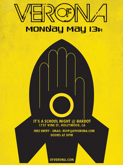 May 13th | It's A School Night | Presented By Chris Douridas of KCRW