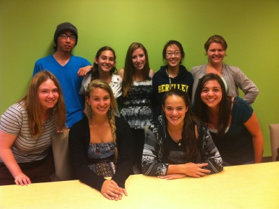 Here are the new UCSB Active Minds officers for the 2013-2014 school year! I started crying when they all said their speeches. I can't believe I'm leaving this amazing club and group of people :(