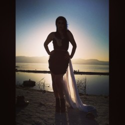 Been a long but great day! #photoshoot #salton #sea #modeling  (at Bombay Beach, Salton Sea)