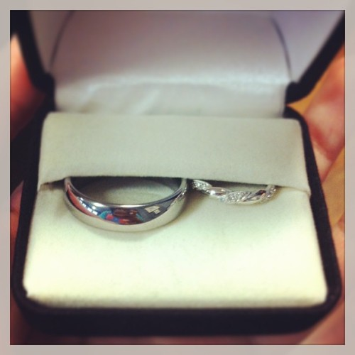 Cory and I's wedding rings! 💍💏