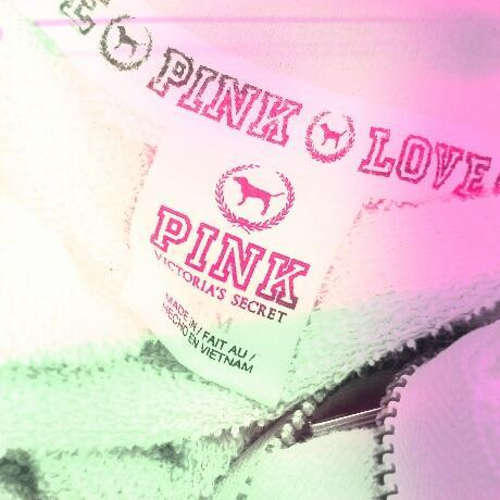Covered in PINK <3 #GimmeI (Taken with Pink Nation Android)      I added this cool filter on the PINK Nation app. Download it now to PINK your pics!