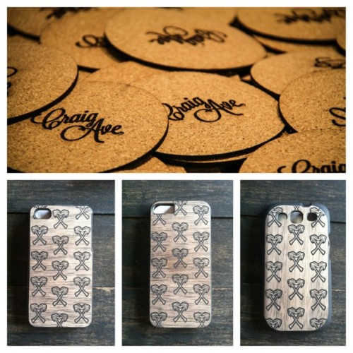 Craig Ave iPhone 4, 5 and Galaxy 3 cases are available now for $25! Shop online @craigave  Hit me up if your local  #craigave #iphone5 #thrive #galaxy3 #fashion #streetwear #la #style #custom #wood #accessories #summer2013  (at www.craigave.com)